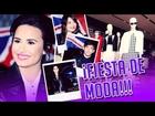 ¡Demi Lovato, Miranda Cosgrove y Kevin Mchale Fiesta de Moda!