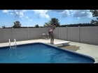 Sexy Bikini Girl Backflip Pool Fail! OpTic Jewel IRL