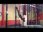 44 Year Old Ring Inverted Muscle Up to Backwards Roll Sequence