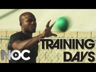 Tim Bradley Stretching and Medicine Ball Work: Training Days - Part 1 - The NOC