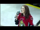NHL Senators National Anthem Singer Screws Up During Canadian Anthem