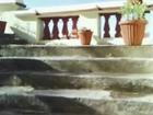 terraza de Brij cottage con visitantes