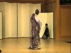 地唄舞山姥 神崎ひで一 Japanese traditiona dance YAMAUBA Hideichi Kanzaki