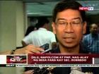 QRT: DILG, NAPOLCOM at PNP, nag-alay ng misa para kay Sec. Robredo