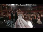 Jennifer Lawrence falls on her way to accept Best Actress Oscar 2013