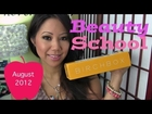 Birchbox August 2012: Beauty School