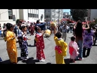 Bon Odori Ginza Bazaar Obon Festival Buddhist Church of San Francisco California July 2012