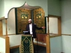Al Inshirah Islamic Center -Jumah Khutbah recorded live on 3