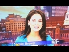 Sexy News Anchor Nicole Bitches Out Weather Lady on Live TV Pt. 2