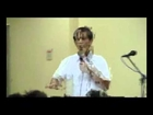Rev. Mar's Sermon - October 30, 2011