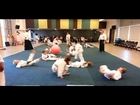 Aikido Kids Game - Backward Rolling Ball Game