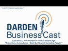 BusinessCast 232 with Darden Professor Thomas Steenburgh