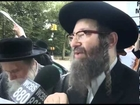 Orthodox Rabbis protest first Gay meriage in NYC