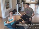 Medicine Ball Abs Exercise