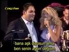Natasa Theodoridou & Stelios Dionisiou - Me Les Agaph (Turkish Subtitled)