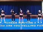 Cheerleading Cheers - Halftime Routine from Cali Cheer