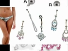 Vute belly button rings