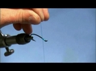 How to Make the Blue Meanie Fishing Fly Part 1/7