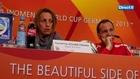 Sandrine Soubeyrand en conférence de presse - Mondial Foot Féminin 2011