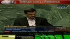 Iranian President Mahmoud Ahmadinejad at UN , 26th Sep. 2012