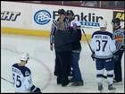 Steelheads Fan On The Ice